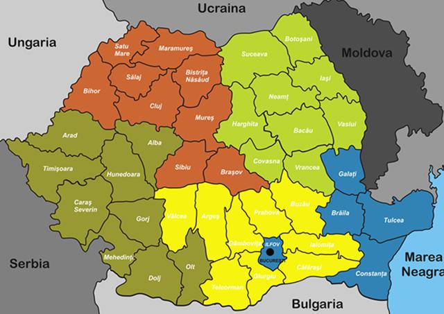 Zone de distributie si vanzari de vinuri in Romania
